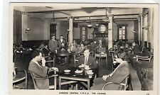 THE LOUNGE, LONDON CENTRAL YMCA: London postcard (C10158)
