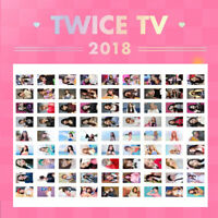 TWICE - TV 2018 DVD PHOTO CARD TZUYU MINA SANA MOMO JIHYO CHAEYOUNG NAYEON
