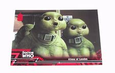 2016 Topps DOCTOR WHO #71 Aliens of London - Red Variant/25 BBC - Ninth Doctor