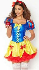 Frederick's of Hollywood Sexy Snow White Costume Costume Medium NWOT princess