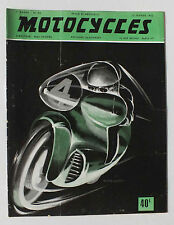 ANCIENNE REVUE MOTOCYCLES N° 93 - 15 FEVRIER 1953 *