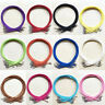 5/10Pcs Suede Leather String Cord Lobster Clasp Necklace Jewellery Finding 47MM