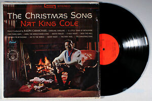 Nat King Cole - The Christmas Song (1962) Vinyl LP • Chestnuts Roasting, Holiday