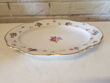 Vintage Hutschenreuter Mayfair Bavaria Porcelain Oval Serving Dish/Platter