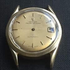 Vintage UNIVERSAL GENEVE Polerouter Watch Microrotor Automatic Cal. 215-1