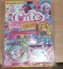 Cute magazine #142 2020+ Barbie stationery, Pikmi Pops purse & Mermaid slime