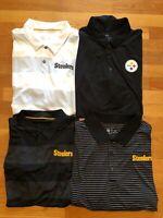 nike golf Steelers Mens polo DRI FIT standard fit PITSBURGH NFL NWT NEW M L XL