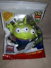 """5"""" Disney Store Pixar Toy Story Alien SQUISHY Squish And Squeeze TOY STORY 4"""