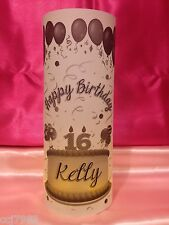 10 Personalized Happy Birthday Luminaries Table Centerpieces Party Decor #1