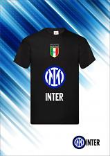 Tshirt Maglietta Uomo Inter nuovo logo Celebrativa 19° scudetto 2021 nero