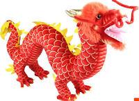 Cool Chinese Dragon Plush Stuffed Animal Toy Baby Doll Birthday Gift Mascot New
