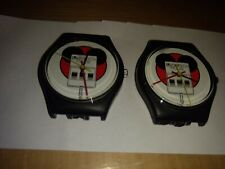 Two (2) Vintage Logitech Mouse Wristwatch Watches Unused Without Bands