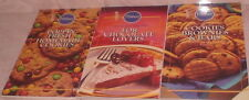 3 Pillsbury Cookbooks For Chocolate Lovers Homemade Cookies Brownies Bars Recipe