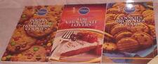 3 Pillsbury Cookbooks For Chocolate Lovers Homemade Cookies Brownies Bars Recipe