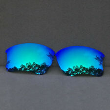Ice Blue Mirror Polarized Replacement Lens for-Oakley Flak Jacket XLJ AU Sydney
