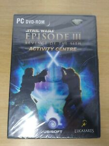 Star Wars Episode 3 Revenge Of The Sith Activity Centre PC Dvd-Rom New Sealed.