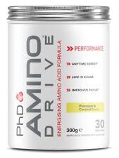 PhD Amino Drive Alimentation d'acides aminés Formule 300 G Ananas & Noix De Coco Parfum