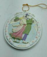 "Vintage Always Loving You AGC Inc 1998 Hanging Ornament Decoration 3"" long"