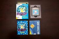 Game Boy Pocket Monsters Pokemon Blue Boxed Japan GameBoy GB game US Seller