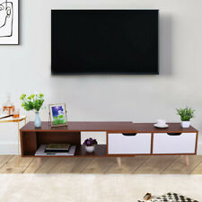 Simple Modern TV Cabinet Living Room Furniture Telescopic TV Cabinet Home USA