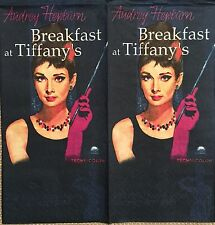 2 single paper napkin for decoupage or collection Cinema Actress Audrey Hepburn