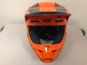 Fox Racing YOUTH Motocross MX SX V1 Prizm Race Helmet Orange S M L NEW AUTHENTIC