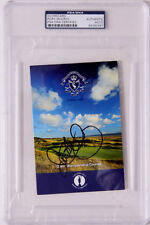 RORY MCILROY HAND SIGNED LIVERPOOL SCORECARD - OPEN CHAMPION