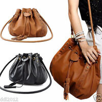 Women Ladies Leather Shoulder Bag Tote Purse Handbag Messenger Crossbody Satchel