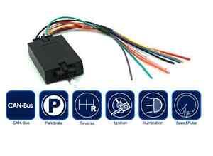 Interfaccia attiva servizi da CAN BUS sottochiave +12V, retromarcia, odometrico