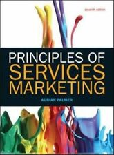 Principles of Services Marketing by Adrian Palmer 9780077152345