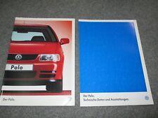 VW Polo Prospekt, 1998, Brochure, Volkswagen