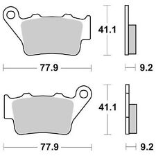 PASTIGLIA FRENO POST.  WRP KTM LC4 SMC SUPEMOTO 660  03/04