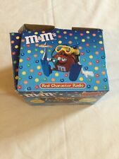 M&M Red Character Collector Edition Radio W/ Headphones New  Scuba Diver M&M