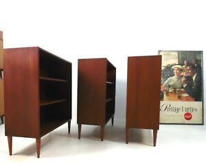 Georg Satink Teak Sideboard-Bücherregal für WK Möbel, 1960er