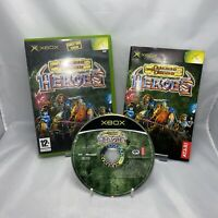 Xbox Original - Dungeons & Dragons: Heroes - PAL - Complete With Manual Free P&p