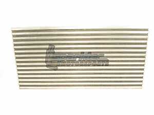 Garrett Turbo Air to Air Intercooler Core CAC (23in x 12in x 3.8in) 1000HP NEW
