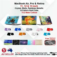 """Crystal Matte Pattern Hard Case Shell for Macbook Air 11/13"""" Retina 12'' Pro 13'"""
