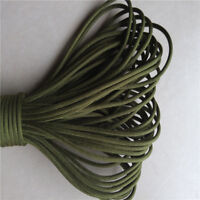 Parachute Rope 25FT/100FT Hank Paracord String 550 Cord 7 Strand Outdoor #Fresh