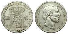 Netherlands - 2½ Gulden 1855 - Willem III