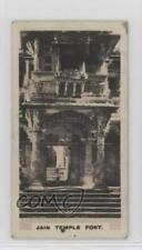 1925 Westminster Indian Empire Series 1 #20 Ahmedabad Jain Tample Fort Card 0w6