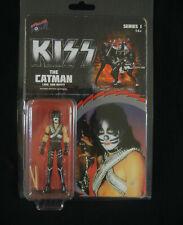 "KISS Retro THE CATMAN 3 3/4"" Figure : Love Gun Series 1, Peter Criss"