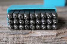 Corsiva Font Metal Stamp Set-3mm-Uppercase-Steel Stamps for Metal