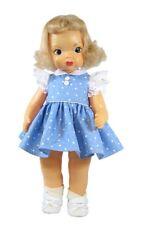 Classic Blue Print Dress For Terri Lee Doll