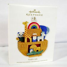 Hallmark Keepsake Bob Kolar Noah's Ark Christmas Tree Ornament Collectible 2011
