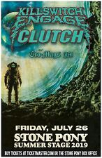 KILLSWITCH ENGAGE / CLUTCH 2019 NEW JERSEY CONCERT TOUR POSTER - Metalcore Music
