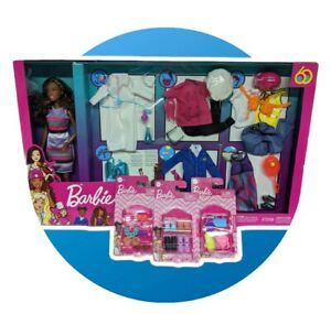 Barbie Dream Careers Doll & Clothes With Additional Shoes, Handbags and Headband