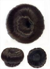 Hair Bun, Perfect Braided, Hair Piece, Brown.