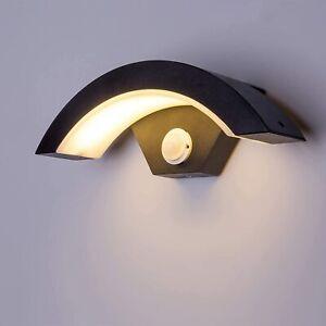 Outdoor PIR Motion Sensor 16W LED Lights Garden Corridor Wall Light Fixtures