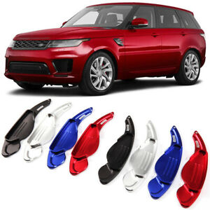 Alloy Steering Wheel DSG Paddle Extension Shifters Cover For Range Rover Sport