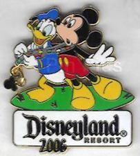 Disney Pin 47044 Trading Night 2006 Mickey Mouse Donald Duck Dangle LE 750 #